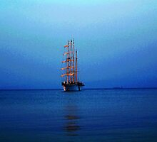 Tall Ship  by DoreenPhillips