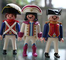 Three Musketeers by eelsblueEllen