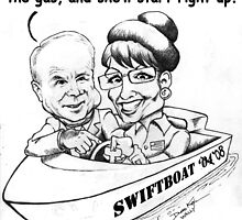 McCain Swift Boat by deankeim