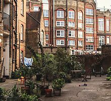 London Courtyard by Valentin Astier