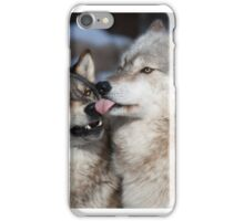 Derpy Wolves iPhone Case/Skin