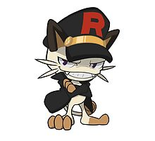 Rocket Meowth by Beck Sandoval
