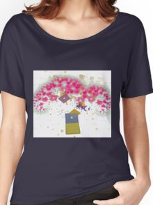 Love Blossoms Women's Relaxed Fit T-Shirt