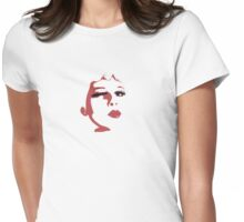 Wink (like Sarah Palin?) Womens Fitted T-Shirt