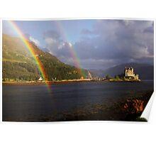 Rainbow Castle Poster