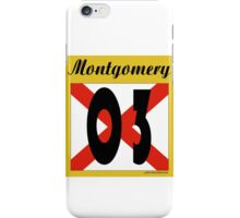 ALABAMA:  03 MONTGOMERY COUNTY iPhone Case/Skin