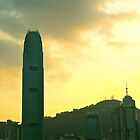 Hong Kong sunset by Maggie Hegarty