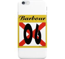 ALABAMA:  06 BARBOUR COUNTY iPhone Case/Skin