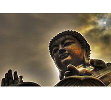 Giant Buddha Photographic Print