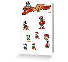 Ducktales Greeting Card