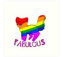 Fabulous Cat Art Print
