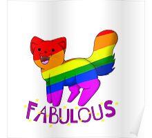 Fabulous Cat Poster