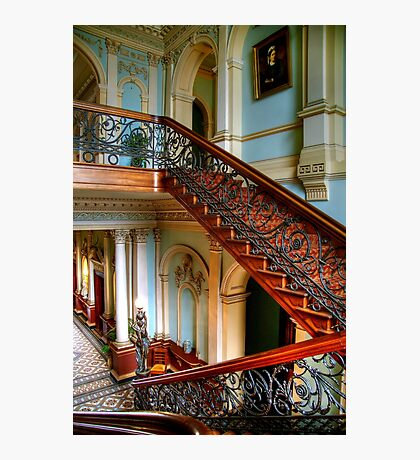 The Staircase at Werribee Mansion Photographic Print