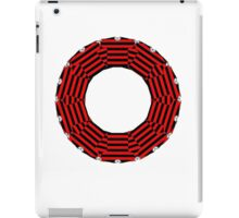 ring-o-t-shirts black and red iPad Case/Skin