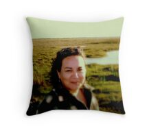 Visit the Sea of Grass!  Throw Pillow
