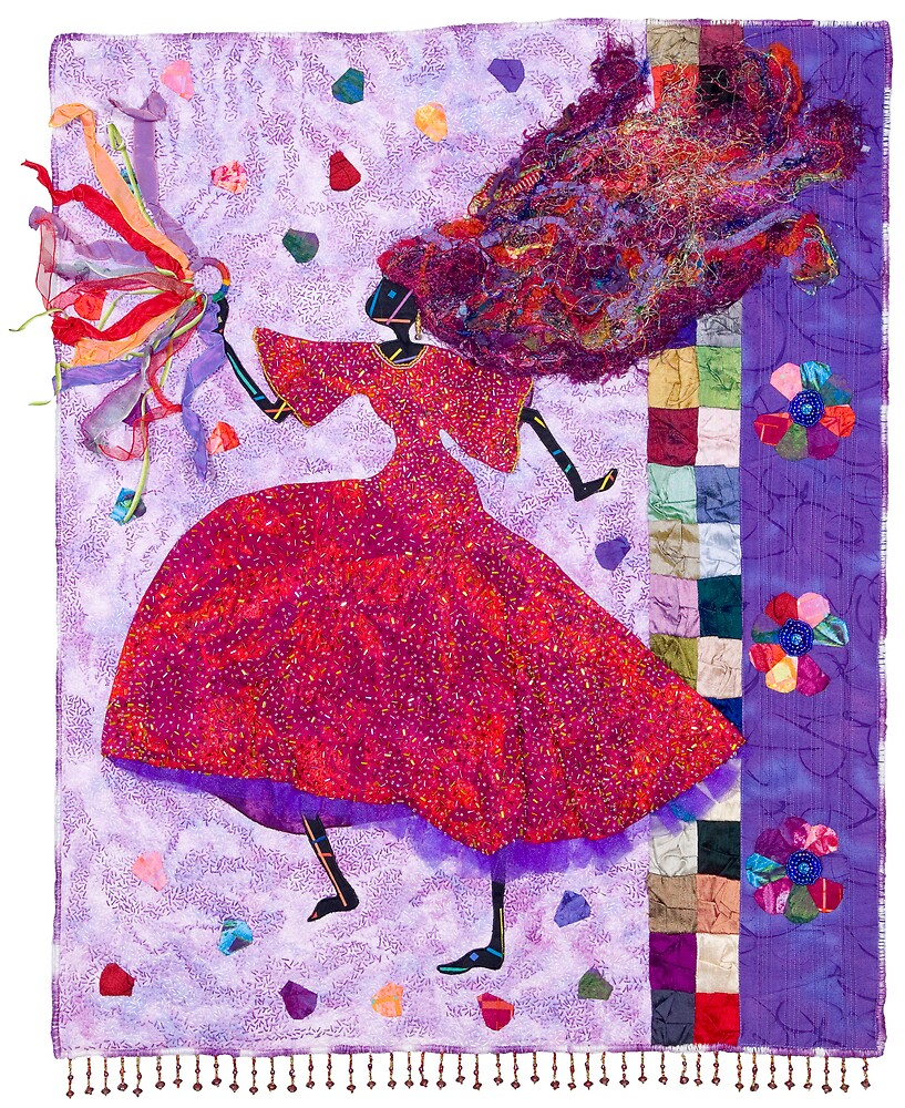 Phenomenal Woman, Inside Out by quiltgranny