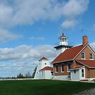 Sherwood Point Lighthouse by Michele Markley