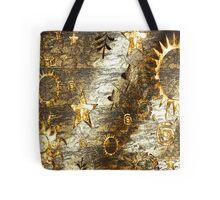 Planetary Gold Tote Bag