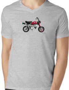 HONDA Z50 STYLE DESIGN Mens V-Neck T-Shirt