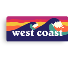 West Coast Canvas Print