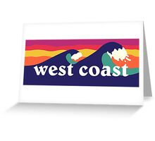 West Coast Greeting Card