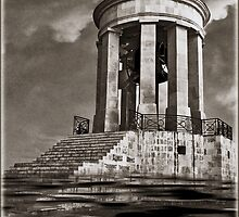 Flood At Great Seige Bell Monument! by PhotoArtBy Astrid