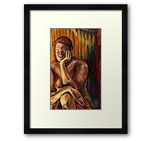 Figure Painting 1 Framed Print