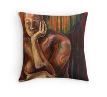 Figure Painting 1 Throw Pillow