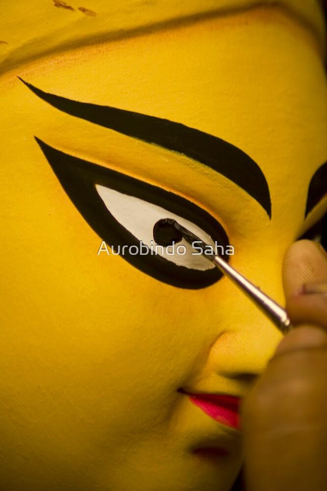 Eyes by Aurobindo Saha