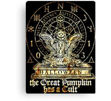 Cult of the Great Pumpkin: Winged Hourglass Canvas Print