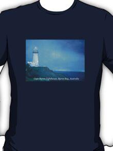 CapeByron Lighthouse - Original oil on canvas T-Shirt