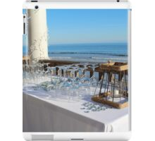 Special Event At The Beach iPad Case/Skin