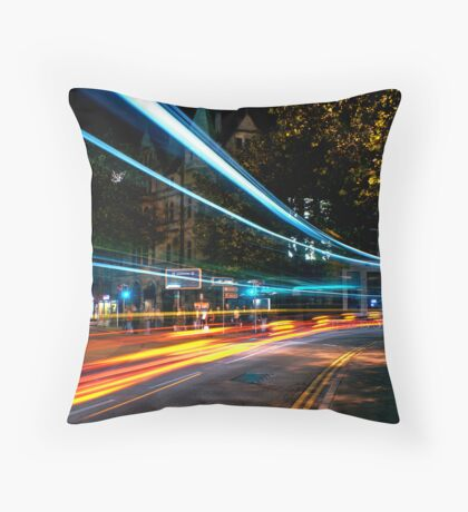 lightspeed Throw Pillow
