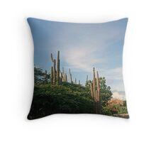 Organ Cactus Throw Pillow