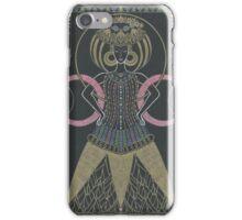art deco queen iPhone Case/Skin