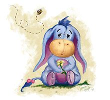 Winnie the Pooh - Baby Eeyore by Leanne Huynh