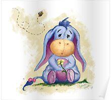Winnie the Pooh - Baby Eeyore Poster