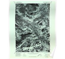 Maine USGS Historical Map Jo-Mary Mountain 806800 1978 24000 Poster