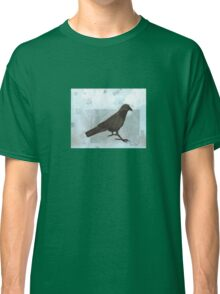Raven in the Snow Classic T-Shirt