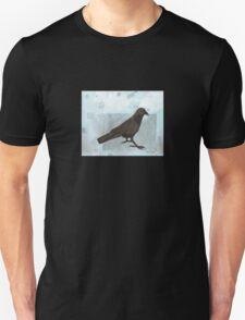 Raven in the Snow T-Shirt
