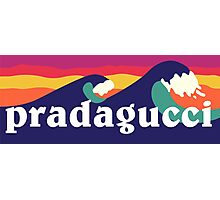Pradagucci waves Photographic Print