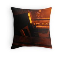 The Mint Throw Pillow