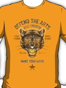 DEFEND THE ARTS PANTHER T-Shirt