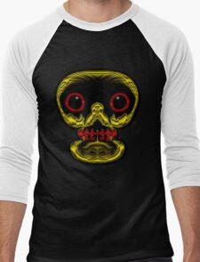 Look me in the eyes! - skull tee Men's Baseball ¾ T-Shirt