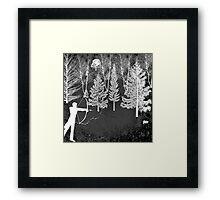 The Squirrel Hunt Framed Print