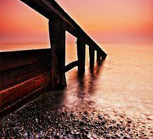 Aldeburgh Beach Suffolk 1. by Wayne Bradshaw