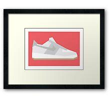 AF1 - Minimal Sneaker Framed Print