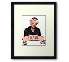 Lindsey Buckingham is Organic Framed Print