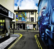 North Laine at a glance by Zuzana D Photography