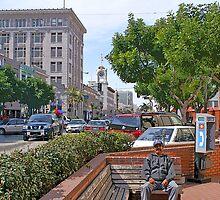 downtown santa ana california by David Pond